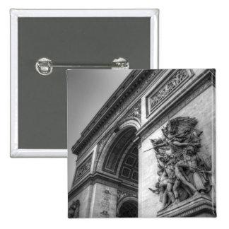 Arc de Triomphe b w Pin