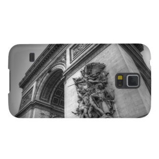 Arc de Triomphe b/w Case For Galaxy S5