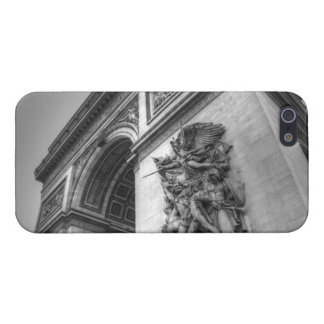 Arc de Triomphe b/w Case For iPhone SE/5/5s