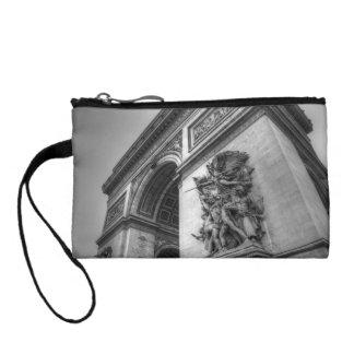 Arc de Triomphe b/w Coin Wallet