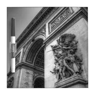 Arc de Triomphe b w Dry-Erase Whiteboards