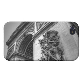 Arc de Triomphe b/w iPhone 4/4S Covers