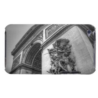 Arc de Triomphe b/w iPod Touch Case
