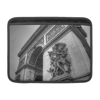 Arc de Triomphe b/w MacBook Sleeve