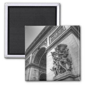 Arc de Triomphe b/w Magnet