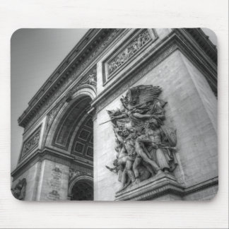 Arc de Triomphe b/w Mouse Pad