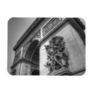 Arc de Triomphe b w Magnets
