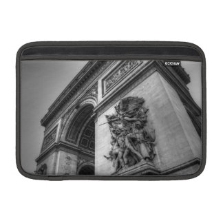 Arc de Triomphe b/w Sleeve For MacBook Air