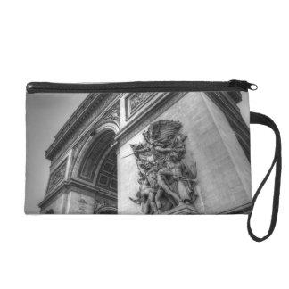 Arc de Triomphe b/w Wristlet