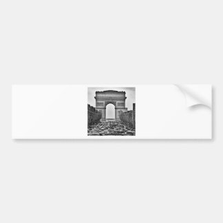Arc de Triomphe Car Bumper Sticker