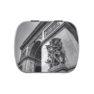 Arc de Triomphe Candy Tins