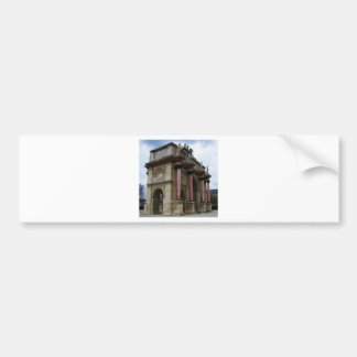 Arc de Triomphe de Carrousel. Car Bumper Sticker