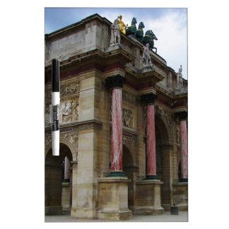 Arc de Triomphe de Carrousel Dry Erase Whiteboard