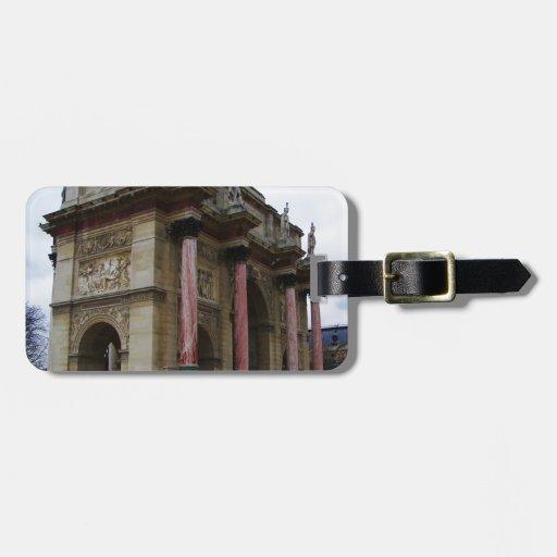 Arc de Triomphe de Carrousel. Luggage Tag