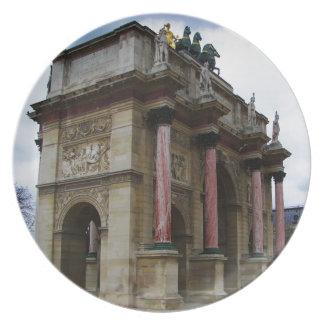 Arc de Triomphe de Carrousel. Plate