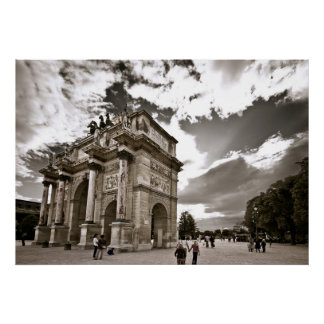 Arc de Triomphe de Carrousel Poster