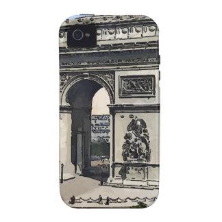 Arc de Triomphe - de l'Etoile Case-Mate iPhone 4 Covers