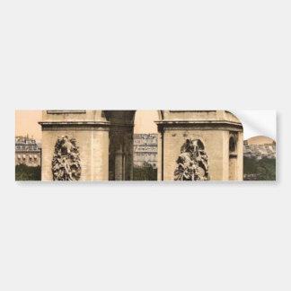 Arc de Triomphe, de l'Etoile, Paris, France classi Car Bumper Sticker