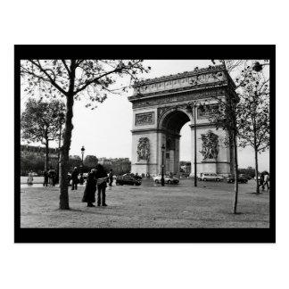 Arc de Triomphe de l'Étoile, Paris, France Postcard