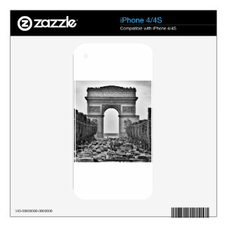 Arc de Triomphe Decals For The iPhone 4S