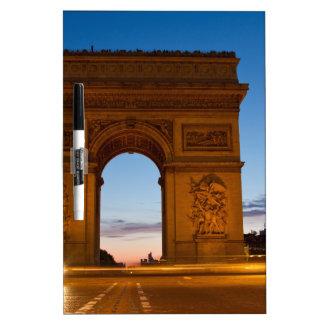 Arc de Triomphe Dry-Erase Whiteboard