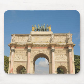 Arc de Triomphe du Carrousel in Paris, France Mouse Pad