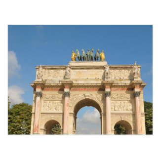 Arc de Triomphe du Carrousel in Paris, France Postcard