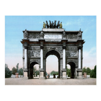 Arc de Triomphe du Carrousel Postcard