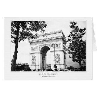 Arc De Triomphe Greeting Greeting Card