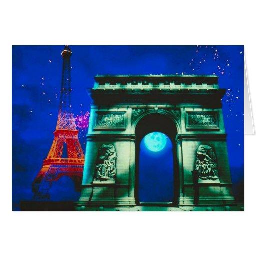 Arc de Triomphe Greeting Cards