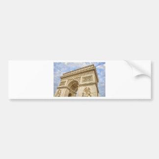 Arc de Triomphe in Paris Car Bumper Sticker
