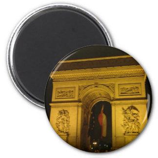 Arc de Triomphe in Paris France Fridge Magnet