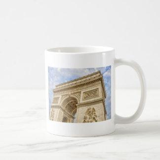 Arc de Triomphe in Paris Classic White Coffee Mug