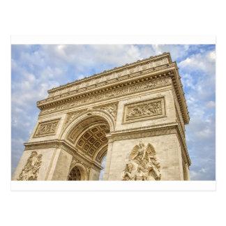 Arc de Triomphe in Paris Postcard