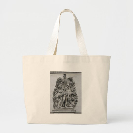 Arc de Triomphe Large Tote Bag