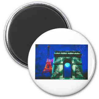 Arc de Triomphe Fridge Magnets