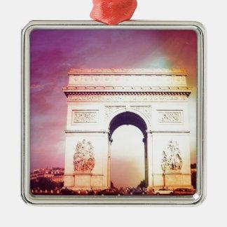 Arc de Triomphe Metal Ornament