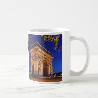 Arc de Triomphe Classic White Coffee Mug
