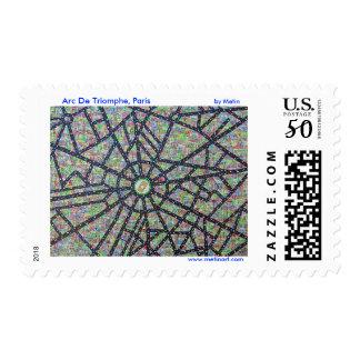 Arc De Triomphe, Paris by Metin Bereketli Postage