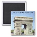 ARC de TRIOMPHE, PARIS FRANCE 2 Inch Square Magnet