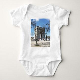 Arc de Triomphe, Paris, France Baby Bodysuit