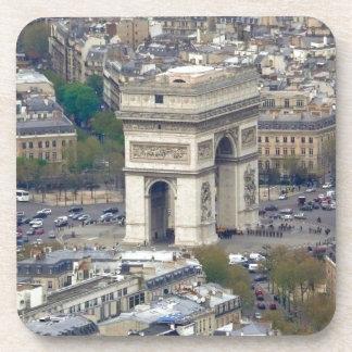 Arc de Triomphe Paris France Beverage Coasters