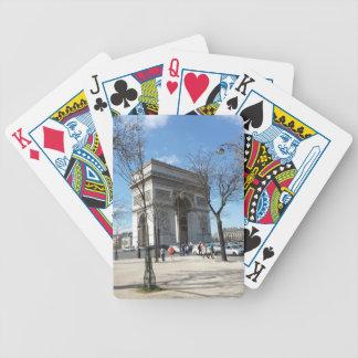 Arc de Triomphe, Paris, France Bicycle Playing Cards