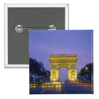 Arc de Triomphe Paris France Pinback Button
