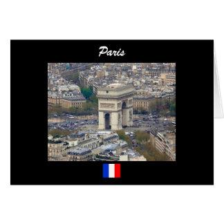 Arc de Triomphe Paris France Card