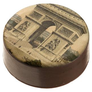 Arc de Triomphe, Paris, France Chocolate Covered Oreo