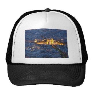 Arc De Triomphe Paris France Cosmopolitan City Trucker Hat