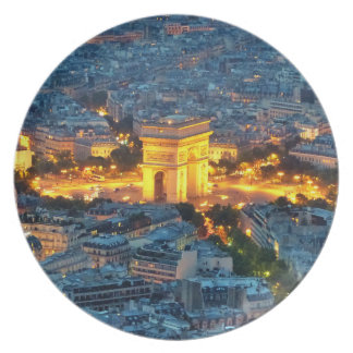 Arc de Triomphe, Paris, France Dinner Plate