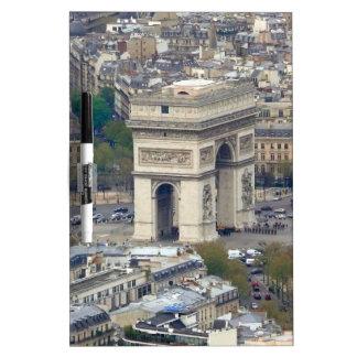 Arc de Triomphe Paris France Dry-Erase Whiteboard