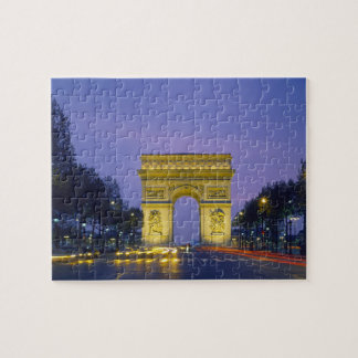 Arc de Triomphe, Paris, France, Jigsaw Puzzle